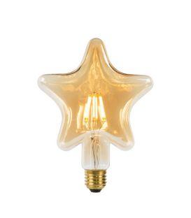 LED PIRN 6W E27 Amber 80102/06/62