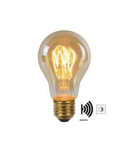 LED sensorvalgusti 4W E27 Amber 49042/04/62