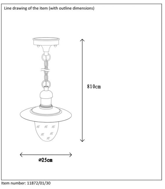 Laelamp ARUBA IP44 11872/01/30