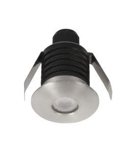1W LED Integreeritav valgusti BANG Round Gray IP67 9019212