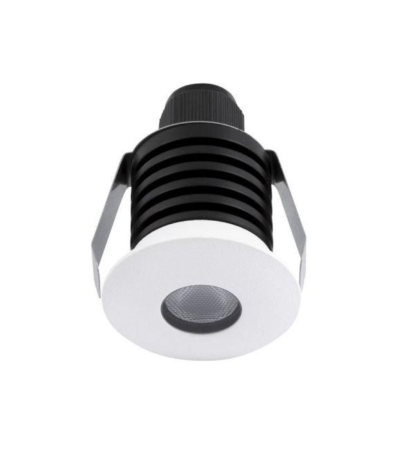 1W LED Įmontuojamas šviestuvas BANG Round White IP67 8038401