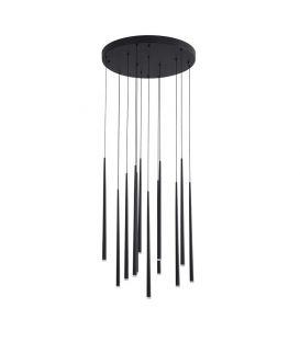 36W LED Rippvalgusti GIONO Black 9601012