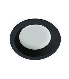 Integreeritav valgusti YAN Black Round 4151201