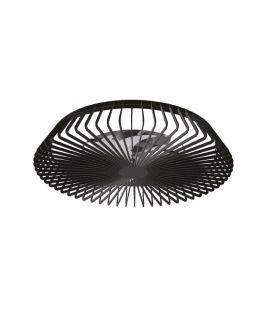 70W LED Ventilaatoriga valgustid HIMALAYA Black Dimmerdatav 7121