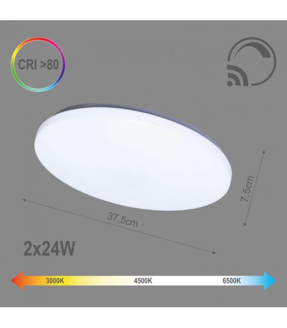 48W LED Lubinis šviestuvas SOFIA Dimeriuojamas 6004000071