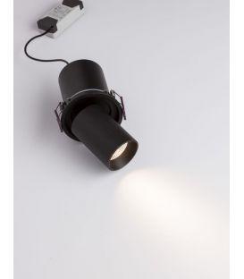 12W Įmontuojamas šviestuvas PIN Black IP32 9232131