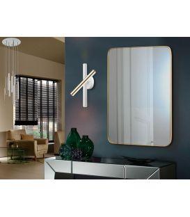 15W LED Seinavalgusti VARAS White/Gold 373869