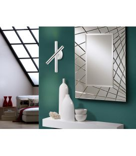 15W LED Seinavalgusti VARAS White/Chrome 373852