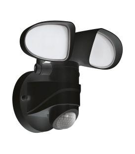 12W LED Liikumisanduriga valgusti PAGINO Black IP44 98176