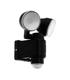 7.5W LED Liikumisanduriga valgusti CASABAS Black IP44 98189