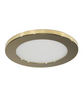 7W LED Integreeritav valgusti LC1452 Gold Ø9.5 IP44 YLD-021994