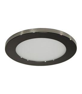 7W LED Integreeritav valgusti LC1452 Black Ø9.5 IP44 YLD-017577