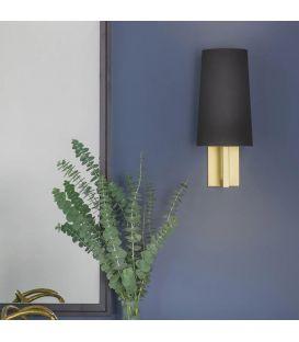 Sieninis šviestuvas RIVA 350 Black/Gold 1214008B