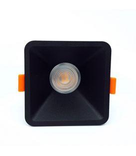 Süvistatav valgusti Aros Black NC2152SQ-FBK