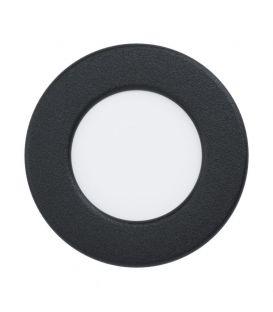 2,7W LED Integreeritav LED paneel FUEVA Black Ø8.6 3000K 99142