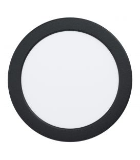 10.5W LED Integreeritav LED paneel FUEVA Black Ø16.6 4000K 99214