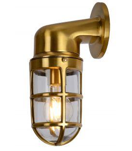 Seinavalgusti DUDLEY Brass IP44 11892/01/02