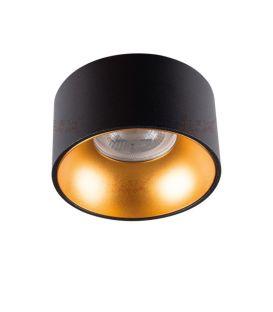 Integreeritav valgusti MINI RITI Black/Gold Ø8.5 27575
