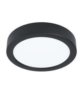 10.5W LED Pinnapealne LED paneel FUEVA 5 Black Ø16 3000K 99222