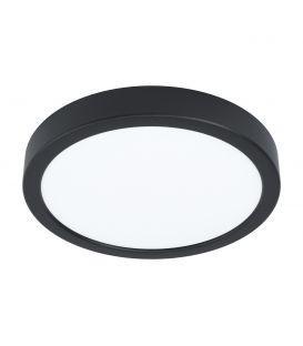 16.5W LED Pinnapealne LED paneel FUEVA 5 Black Ø21 3000K 99223