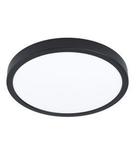 20W LED Pinnapealne LED paneel FUEVA 5 Black Ø28.5 3000K 99224