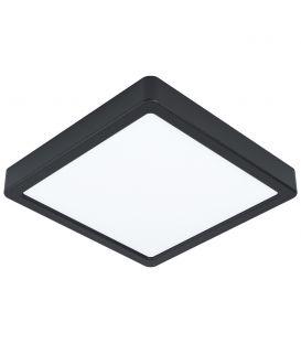 16.5W LED Pinnapealne LED paneel FUEVA 5 3000K Black 99244