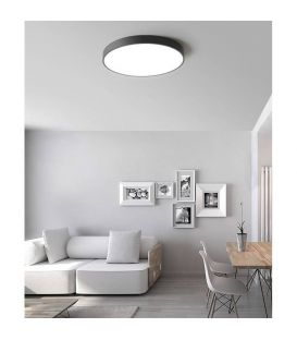 22W LED Lubinis šviestuvas LONDON White Ø40 3000K P376040B