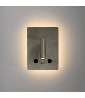 15W LED Seinavalgusti MANAT Nickel A35680NS