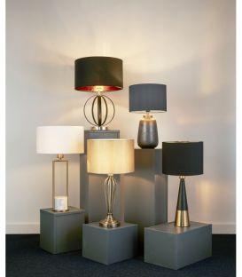 Stainis šviestuvas TABLE LAMP Black 2743BGO