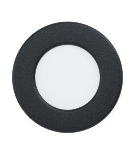 2.7W LED Integreeritav paneel FUEVA 5 Black Ø8.6 4000K 99156