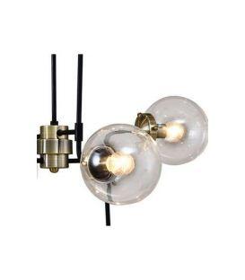 Pakabinamas šviestuvas GELA Black PND-5500-6-BK