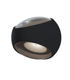 6W LED Seinavalgusti STREAM Black 2 IP54 O032WL-L6B3K