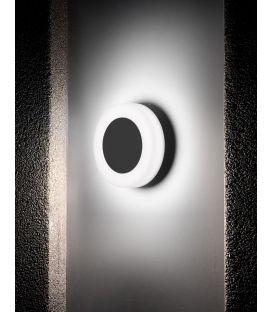 9W LED Sieninis šviestuvas TUNE Black IP65 9529713
