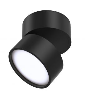 12W LED Laevalgusti ONDA Black 3000K C024CL-L12B3K
