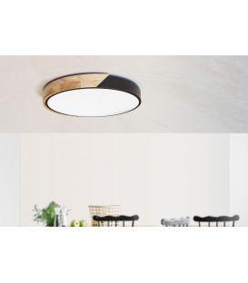 48W LED Lubinis šviestuvas 520/60 Black 9818