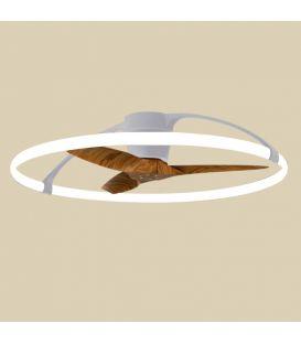 75W LED Ventilaatoriga valgustid NEPAL Silver Dimmerdatav 7533
