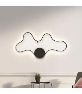 50W LED Seinavalgusti CLARA/GC Black 33229