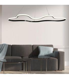 45W LED Rippvalgusti CLARA/SC Black 33267