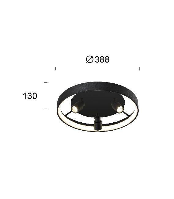 30W LED Lubinis šviestuvas DENIS 4250700