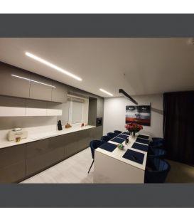 40W LED Įmontuojamas šviestuvas ESNA Black 6003000057