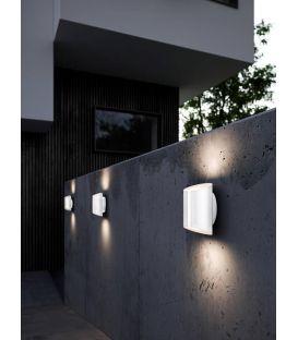 9W LED Sieninis šviestuvas GRIP Black IP54 2118201003