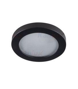 Süvistav valgusti FLINI Ø8 IP44 Black 33122