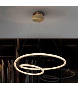 47W LED Rippvalgusti TUBE Gold 138611