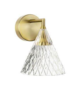 6.7W LED Seinavalgusti VENETO Gold 05-7588-DO-DO