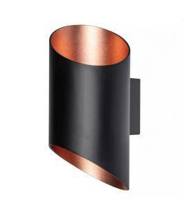 12W LED Seinavalgusti SMART+ WIFI ORBIS CYLDRO Black 4058075574212