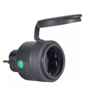 Nutikas pistikupesa LEDVANCE SMART+ WIFI COMPACT OUTDOOR PLUG EU IP44 4058075570979
