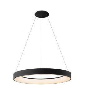 50W LED Rippvalgusti NISEKO Black Ø65 Dimmerdatav 7754
